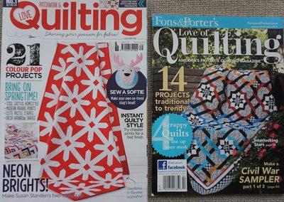Vakantie pakket 31 twee Quilttijdschriften