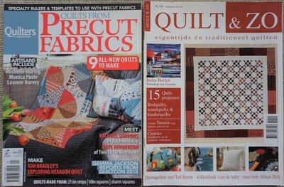 Vakantie pakket 33 twee Quilttijdschriften