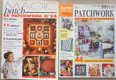 Vakantie pakket 35 twee Quilttijdschriften