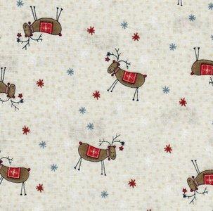 706909-ecru 6890-078 Scvandinavian Christmas rendier