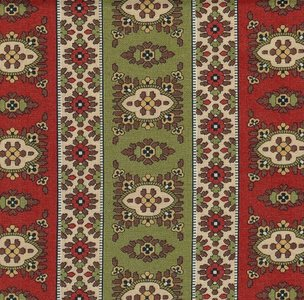 38090-12 Red&Green Glad Tidings