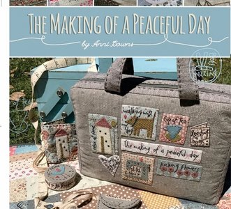 The making of a pieceful day by Anni Downs