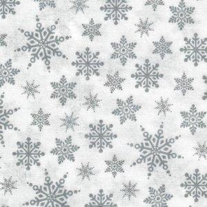 2590-151 Wit met zilver print kristallen