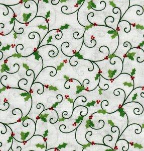 4790-633 Holly Hill Christmas krul met hulst