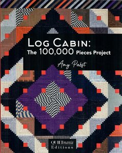 Log cabin the 100,000 pieces project
