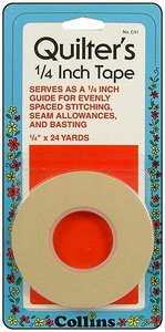COLC41 Quilters Tape 1/4 inch