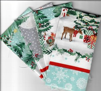 Mini Pack Piece & Goodwill Christmas 4 Panels