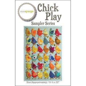 Patroon Chick Play Sampler  van Sue Spargo