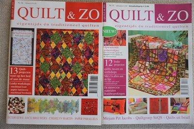 Vakantie pakket 40 twee Quilttijdschriften