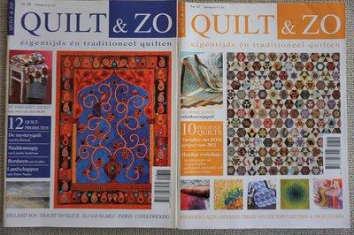 Vakantie pakket 41 twee Quilttijdschriften