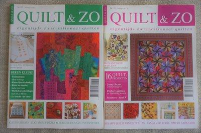 Vakantie pakket 42 twee Quilttijdschriften