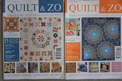 Vakantie pakket 43 twee Quilttijdschriften