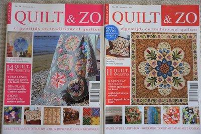Vakantie pakket 44 twee Quilttijdschriften