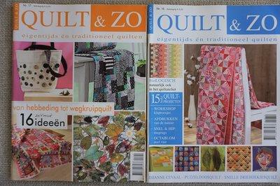 Vakantie pakket 45 twee Quilttijdschriften