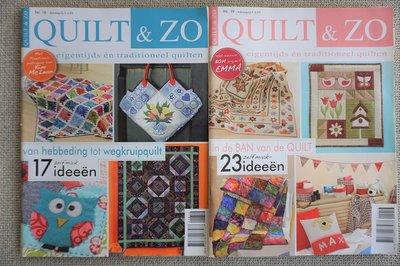 Vakantie pakket 46 twee Quilttijdschriften