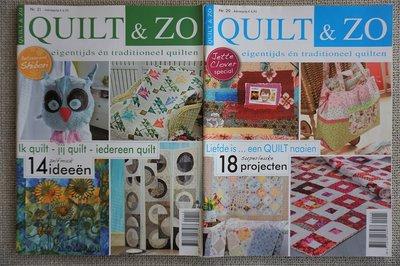 Vakantie pakket 47 twee Quilttijdschriften