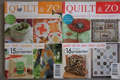 Vakantie pakket 48 twee Quilttijdschriften