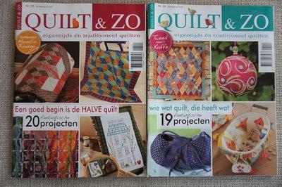 Vakantie pakket 49 twee Quilttijdschriften