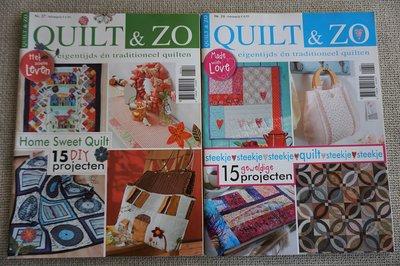 Vakantie pakket 50 twee Quilttijdschriften