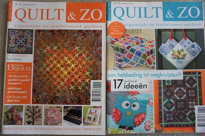 Vakantie pakket 51 twee Quilttijdschriften