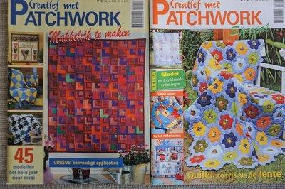 Vakantie pakket 53 twee Quilttijdschriften