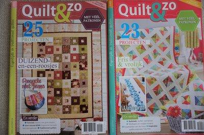 Vakantie pakket 57 twee Quilttijdschriften