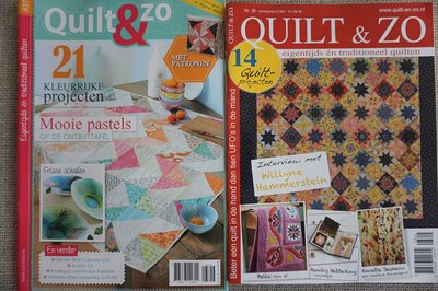 Vakantie pakket 59 twee Quilttijdschriften