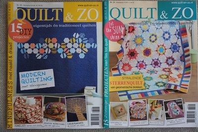 Vakantie pakket 60 twee Quilttijdschriften