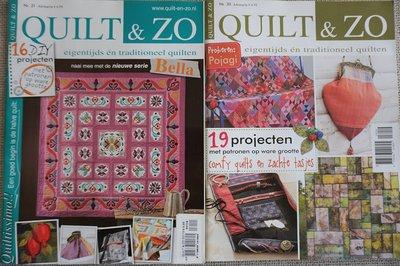 Vakantie pakket 62 twee Quilttijdschriften