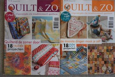 Vakantie pakket 63 twee Quilttijdschriften