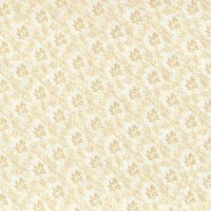 313-043 Classic Tone on Tone beige bloem boeketje op ecru