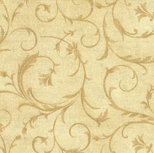 MASQB100-T2 Beautiful Backing  beige met slingers 275 cm breed