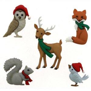 DIU-9500 Woodland Holiday knoopjes