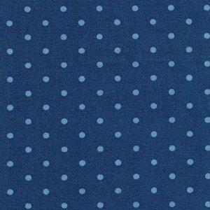 2987-17 Bunny Hill medium blue dot