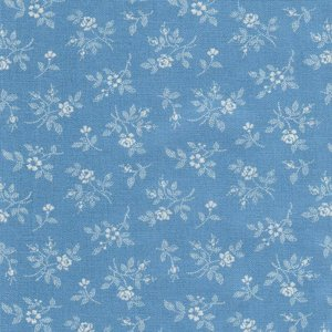 2984-13 Bunny Hill light blue flower