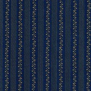 2985-20 Bunny Hill Blue brown stripe