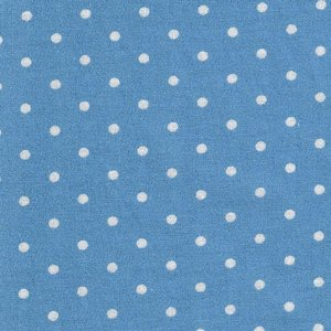 2987-13 Bunny Hill light blue dot