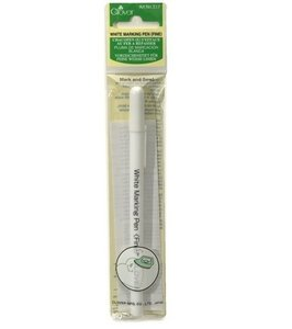 517 Clover white marking pen fine
