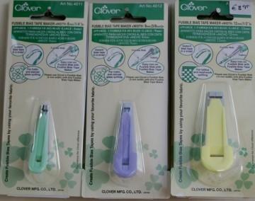 4011 Clover Bias Tapemaker 6 mm (groen)