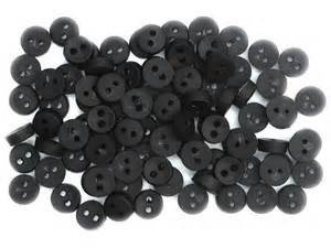 Tiny Black Buttons