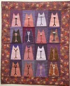 Patroon Kattenquiltje