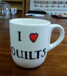 Beker I love Quilts