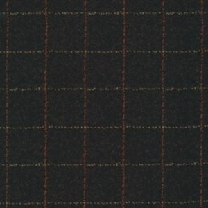 F1879-J Zwart Plaid