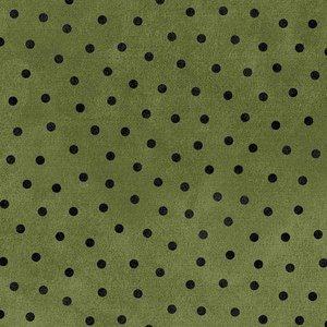 F18506-G Groen met zwart stipje