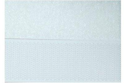 Klittenband Hook & Loop wit 20 mm breed