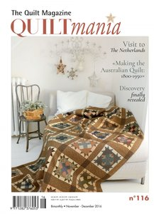 Quiltmania no.116 nov/dec 2016