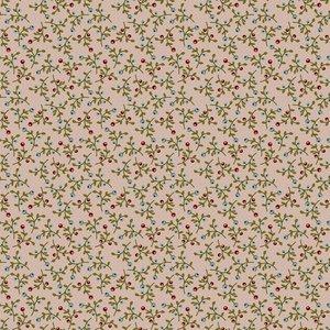 160103 Floral Abundance Light Taupe