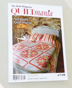 Quiltmania nr. 110 nov/dec 2015
