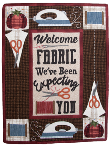 TWBQ01 Quiltpakket Welcome Fabric / The Wooden Bear