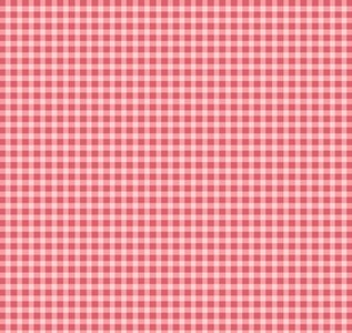 F610-PP Welcome Home Flannel roze ruitje